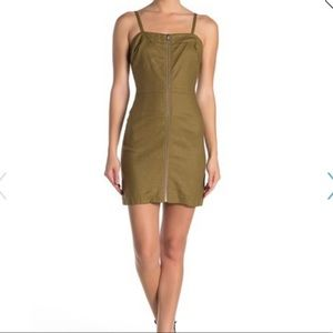 FRNCH army green dress from Nordstrom